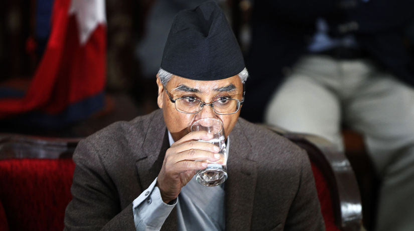 Šér Bahádur Deuba, nepál