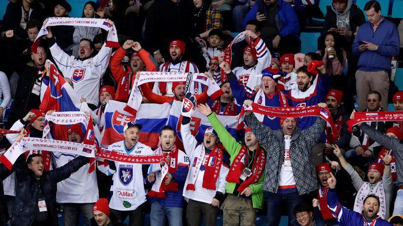 ZOH 2018, hokej, Slovensko - USA, fanúšikovia
