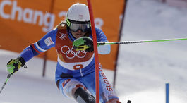 ZOH 2018, slalom, Velez Zuzulová