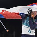 FOTO: Ako si Anastasia Kuzminová došla po zlato - s vlajkou a vysmiata!