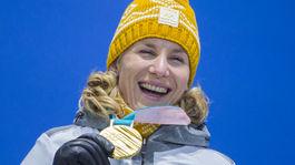 ZOH 2018 biatlon Kuzminová Zlato Medaila