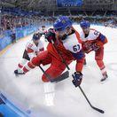 ZOH 2018, hokej, Česko - Švajčiarsko