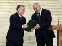 Bulharsko Maďarsko premiér návšteva orbán borisov