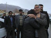 Irán, lietadlo, havária, pozostalí, plač