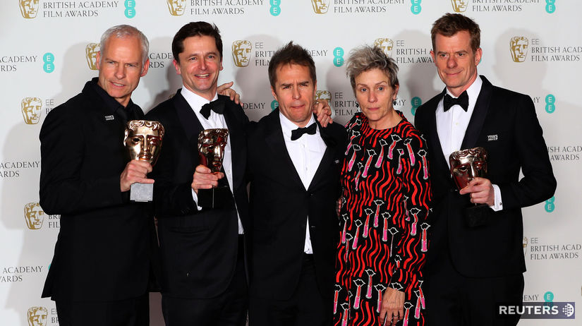 Martin McDonagh, Peter Czernin, Sam Rockwell,...