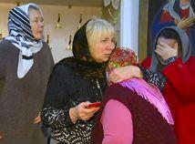 Rusko útok kostol Dagestan