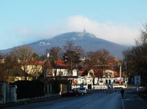 Zobor vrch lanovka Nitra