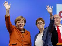 Merkelová si zjavne vybrala nástupkyňu