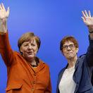 Nemecko Annegret Krampová-Karrenbauerová Angela Merkelová CDU