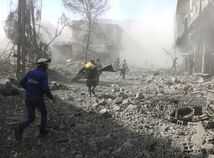 Sýria Ghúta nálety obete