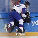 ZOH 2018, hokej, osemfinále Slovensko - USA