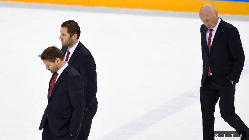 Craig Ramsay, Ján Lašák, Vladimír Országh
