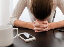 depresia, únava, žena, smútok