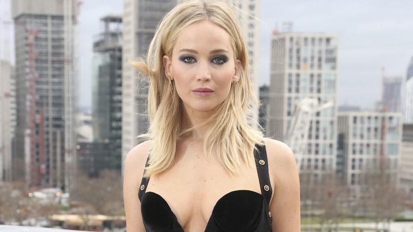 Herečka Jennifer Lawrence vyzerala nesmierne sexy.