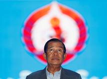 kambodža, premiér, Hun Sen