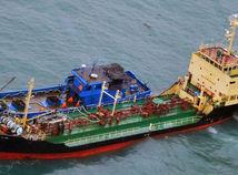 loď, lode, korea, kldr, čína, tanker, japonsko