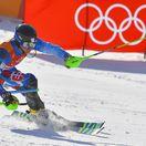 Kórea Pjongčang ZOH2018 Alpské Lyžovanie Slalom Muži