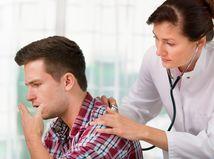 lekárka fonendoskop pacient