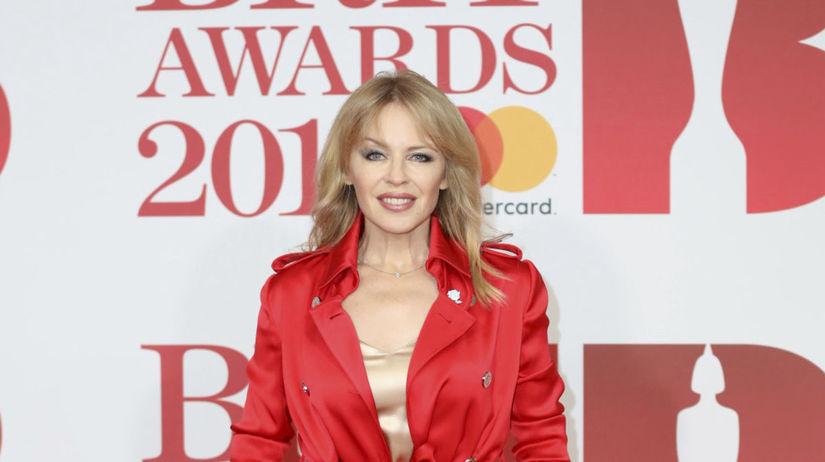 Speváčka Kylie Minogue v kombinácii Ralph &...