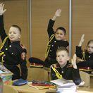 Ukrajina školský zákon žiaci uniformy škola vojenská škola