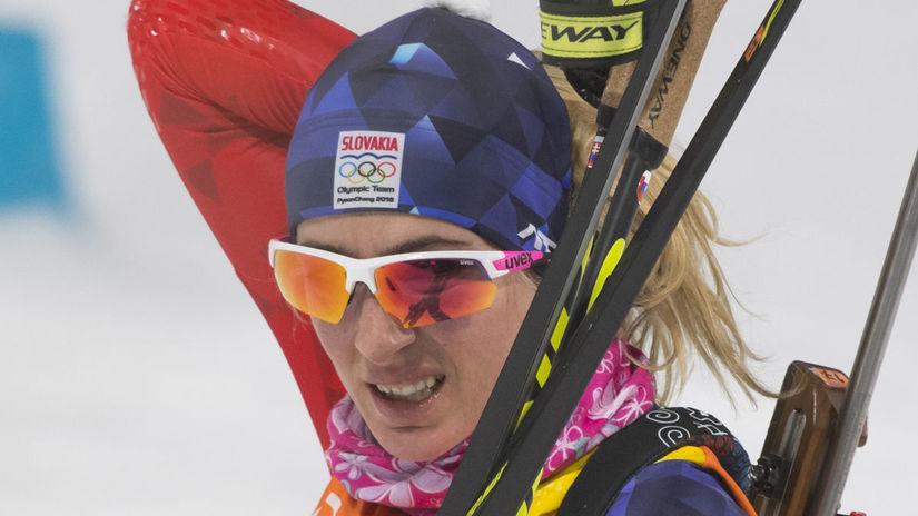 ZOH 2018, biatlon, štafeta, Terézia Poliaková