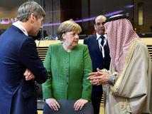 Afrika, pre Sahel, EÚ, Merkelová, Adel al-Jubeir, Brusel
