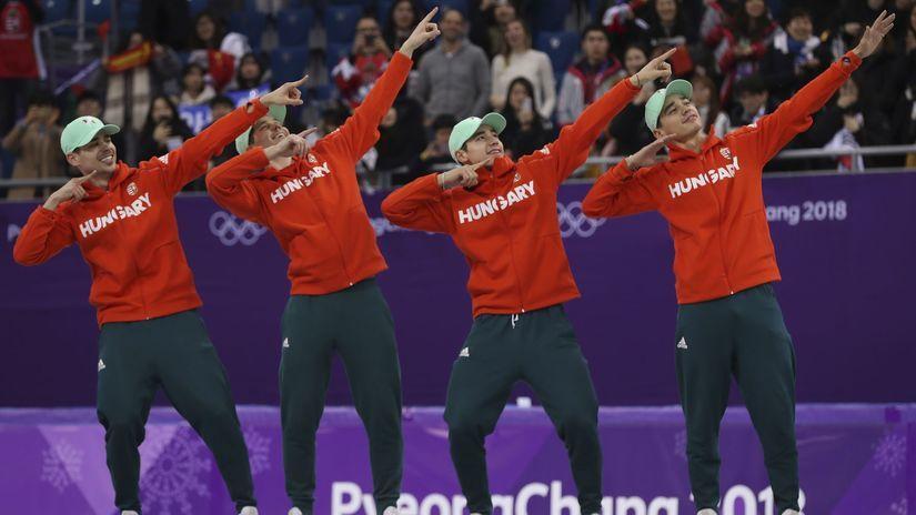 Maďarsko, rýchlokorčuľovanie