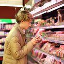 mäso, obchod, nákup,