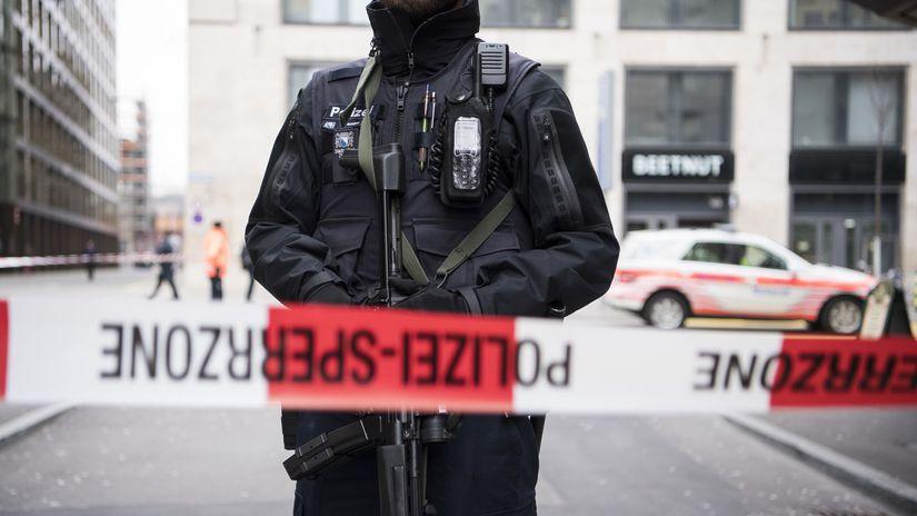 Švajčiarsko, Zürich, streľba, policajt