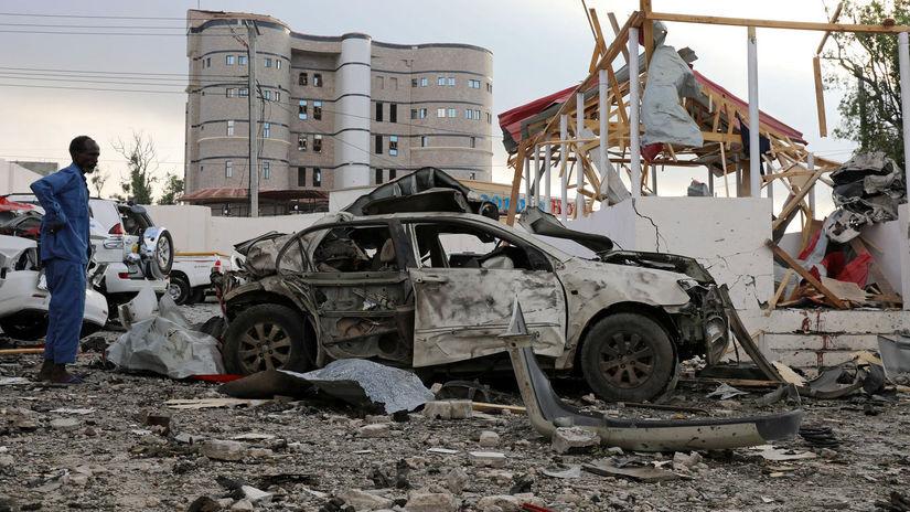 somálsko, mogadišo, útoky, terorizmus