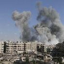 Sýria Ghúta Boje damask