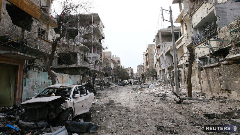 ghuta, syria, damask