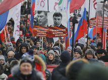 nemcov, rusko,, moskva, pochod