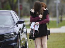 USA Florida škola streľba obete pohreb