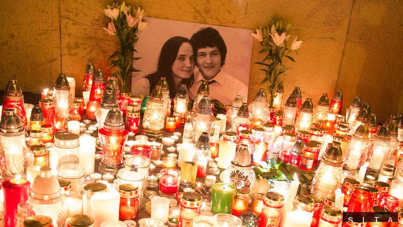 BRATISLAVA: Uctenie pamiatky Jána Kuciaka
