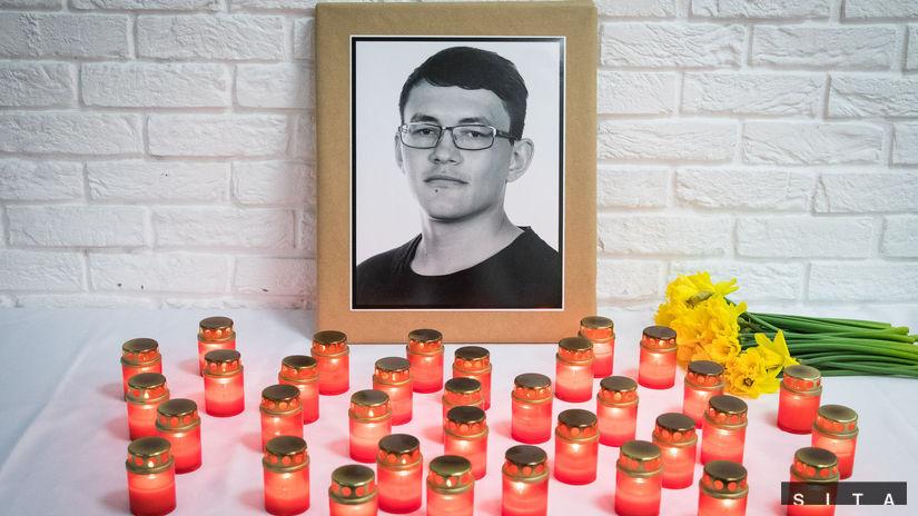 BRATISLAVA: Zapálenie sviečky za Jána Kuciaka