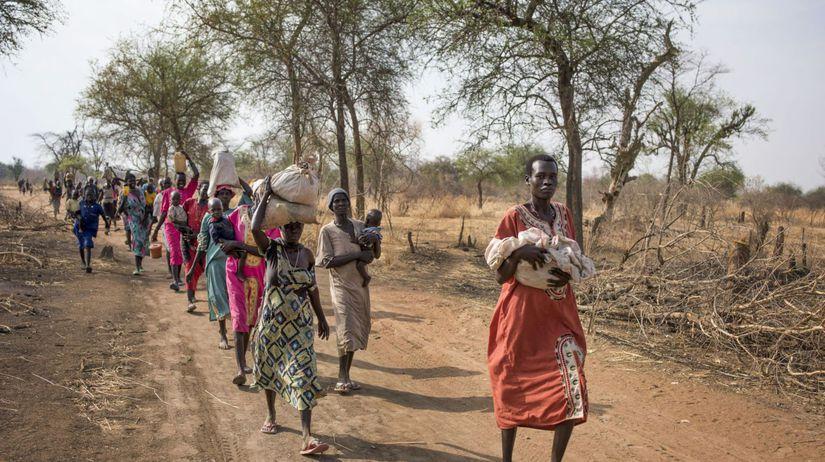 južný sudán, hlad, hladomor