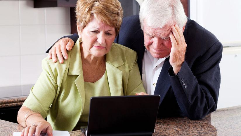dôchodcovia, žena, muž, druhý pilier,...