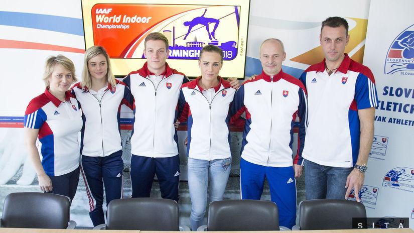 ATLETIKA: Slovenskí atléti pred odjazdom na MS