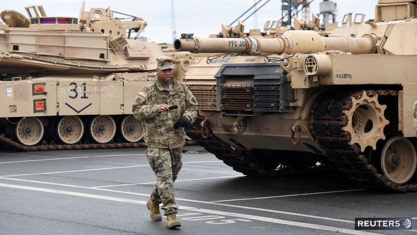 NATO,americká technika, vojak, Nemecko,...