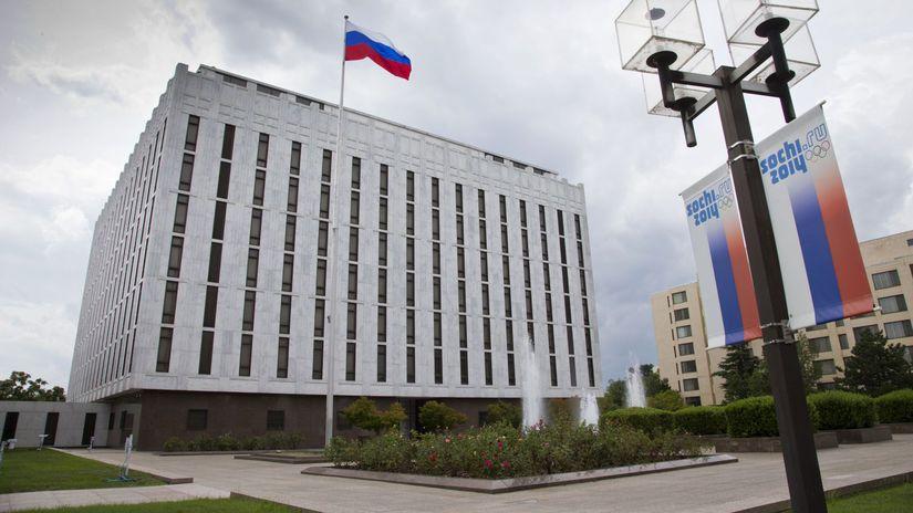 ruská ambasáda, rusko, usa, washington