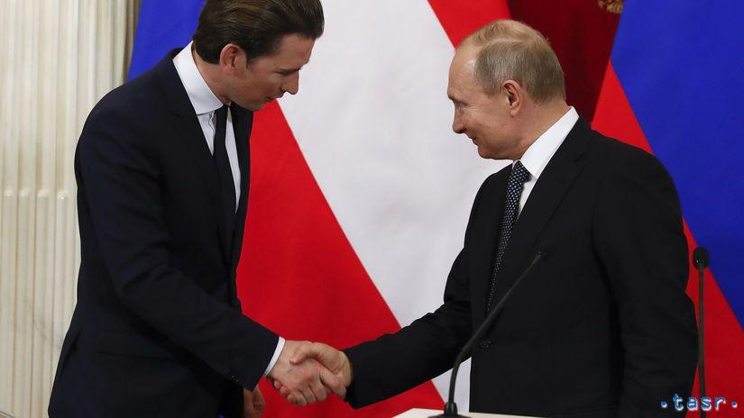 Rusko, Austrália, Putin, Kurz
