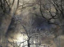 zima, sneh, mráz, Bielorusko,