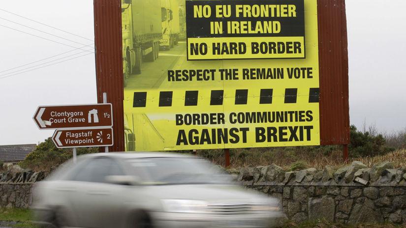 brexit, auto, hranice, Írsko, Severné Írsko,...