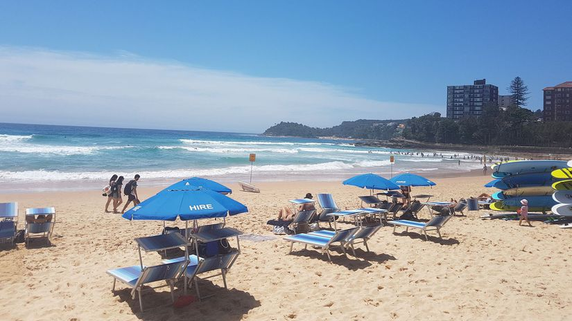 dovolenka, pláž, more