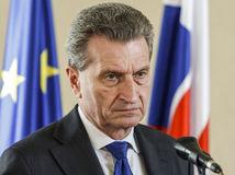 EÚ, diplomacia, vláda, Oettinger