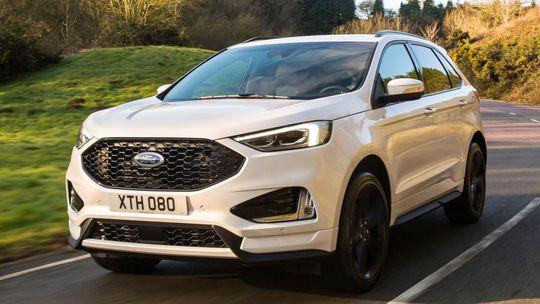 Ford Edge: Veľké SUV dostalo superdiesel EcoBlue a športový strih ST-Line