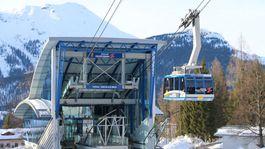 Zugspitze, Alpy, hory, lanovka