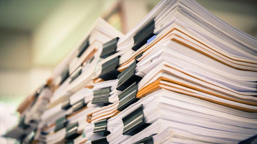 knihy, papiere, dokumenty, byrokracia