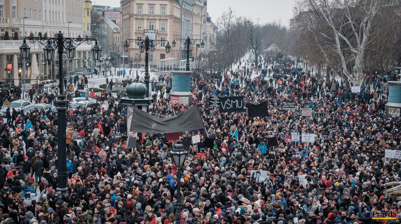 protest, pochod, ján kuciak